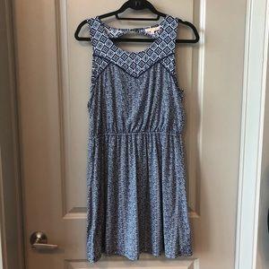 Like new! UO printed boho dress